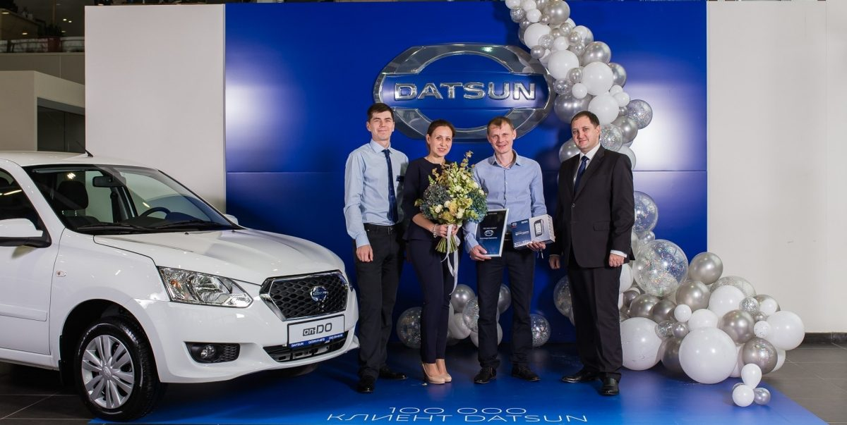 Datsun celebrates 100,000 sales in Russia