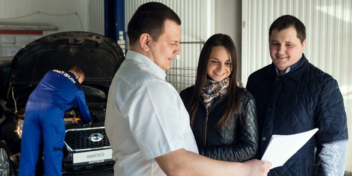Техническое обслуживание в сервисе Datsun