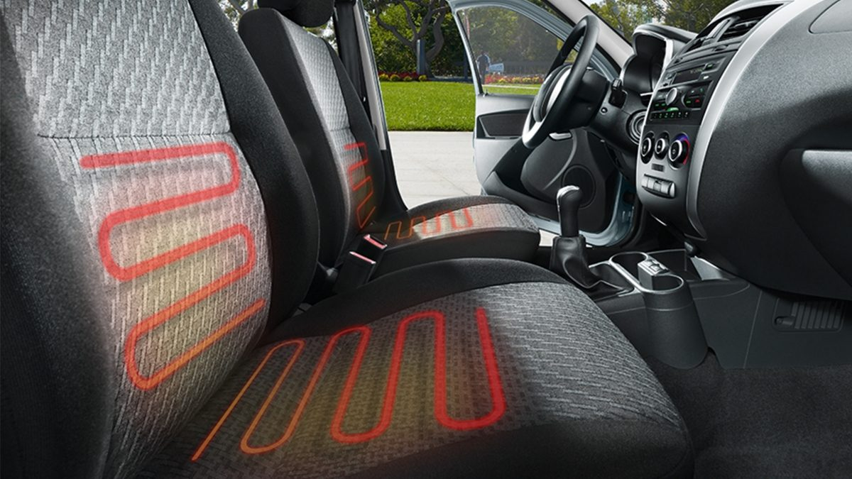 Profile of Heated Front Seats