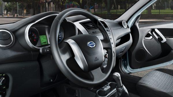 7/8 Interior Shot of Steering Wheel