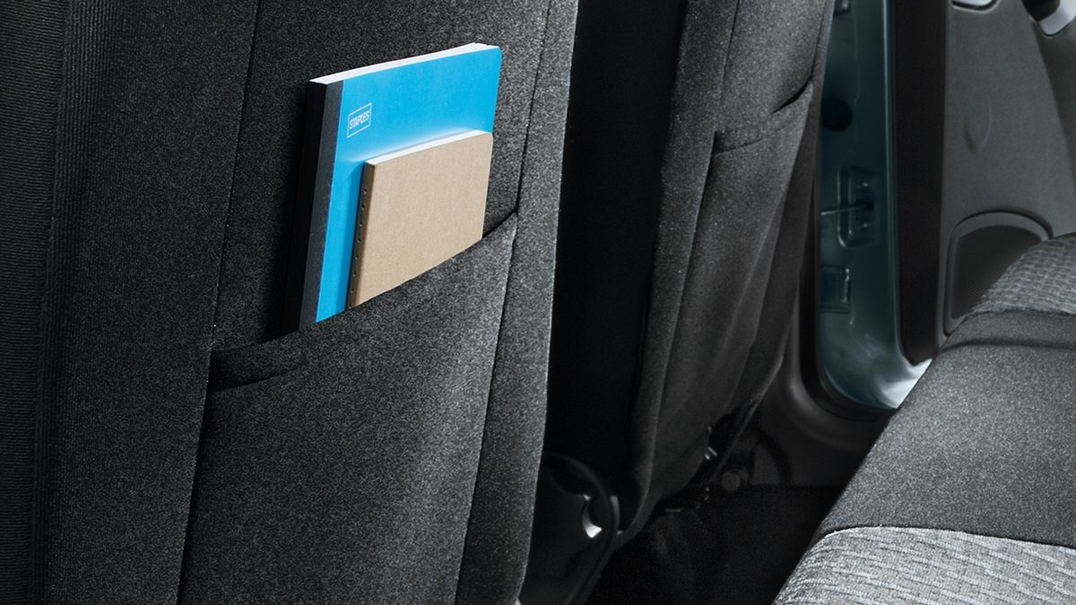 Seatback Pockets with Product