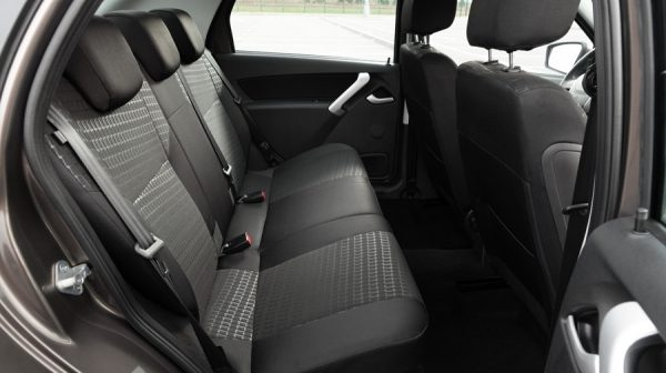 Profile Interior Shot of Front Seats with Advanced Pre-tensioners
