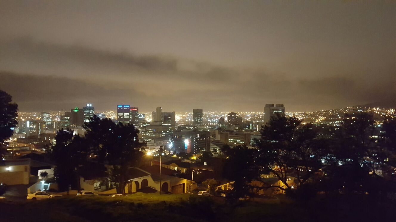 Datsun SA - Cape Town at night