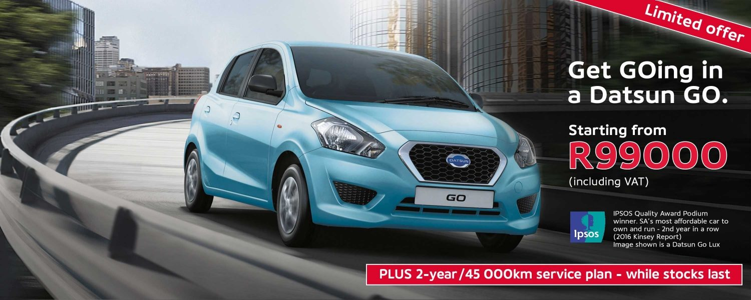 Get going in the Datsun GO