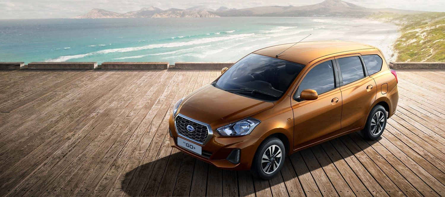 New Datsun GO+ - beach