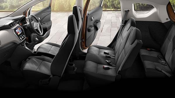 Datsun GO seating