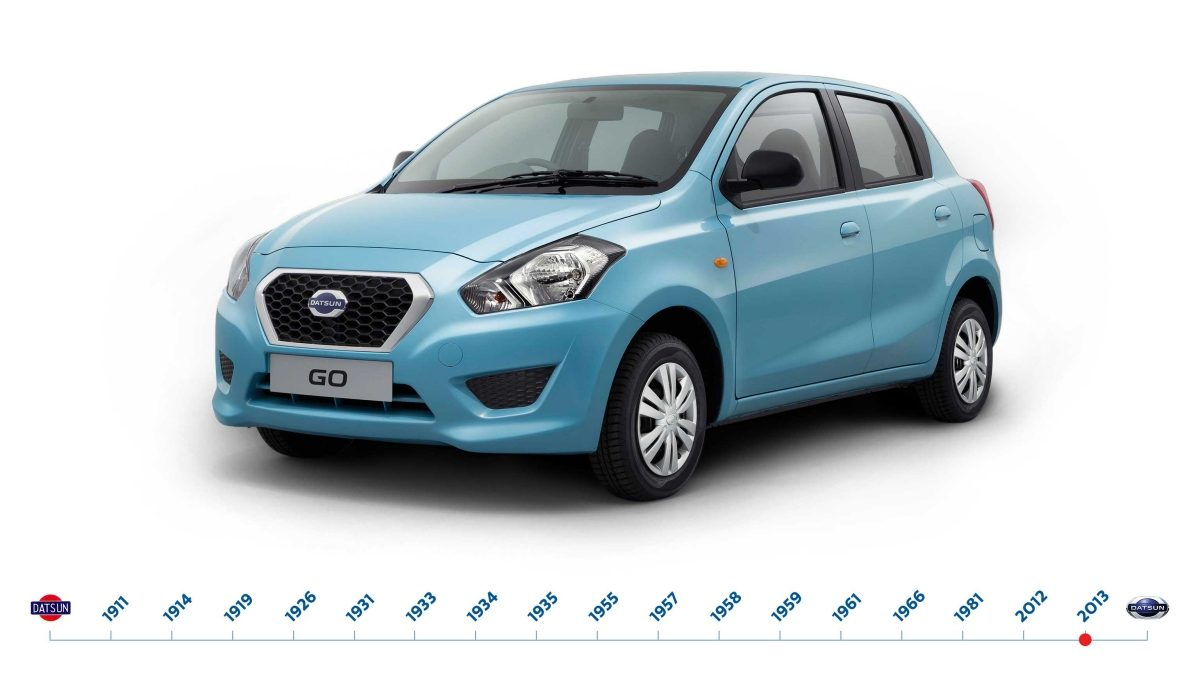 On July 15, the new Datsun is revealed in India.