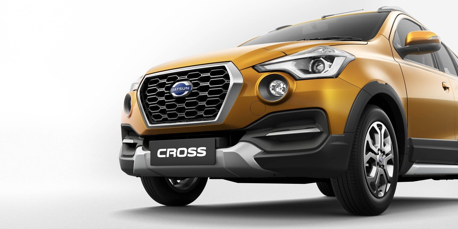 Datsun Cross front of vehicle