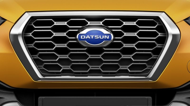 Datsun Cross grille with Datsun logo