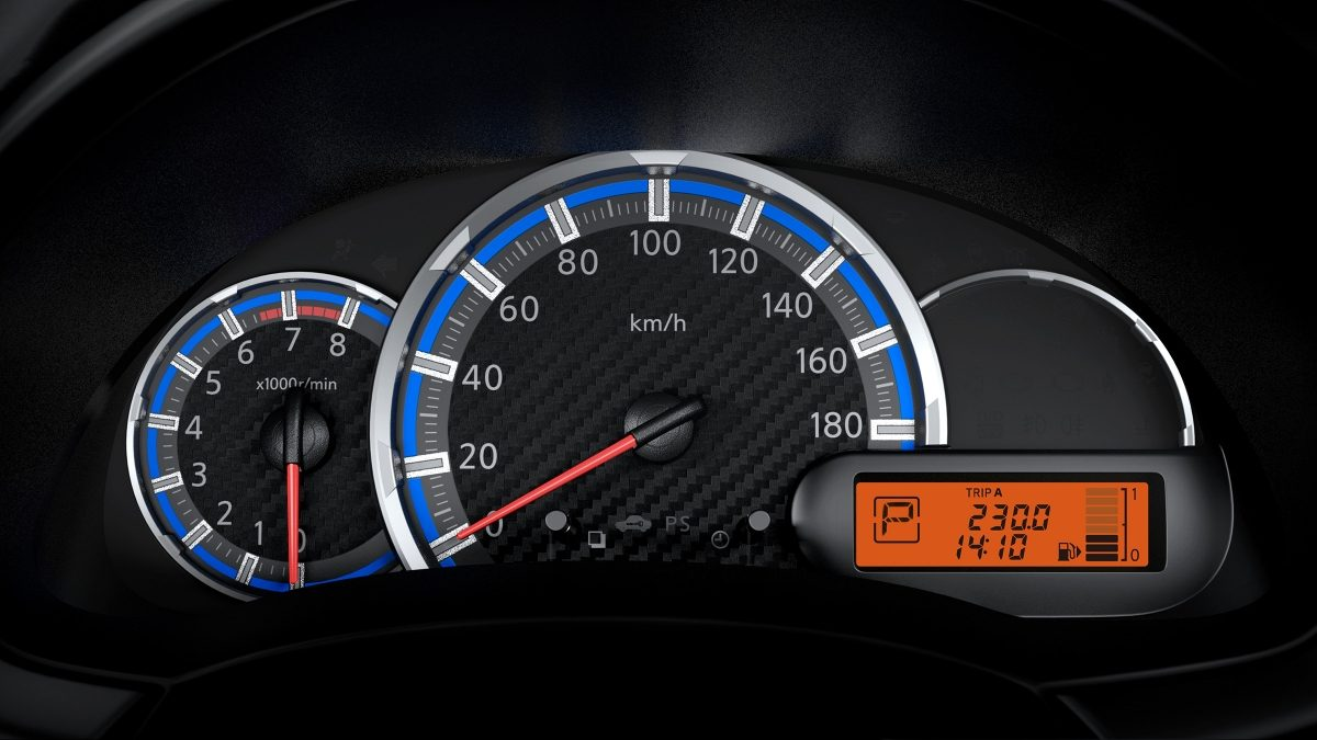 Datsun Cross instrument cluster