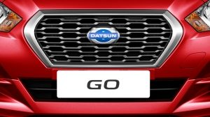 Datsun character grille
