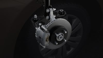 ventilated disc brakes