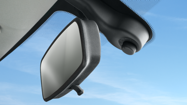 Rain Sensor on Rear View Mirror