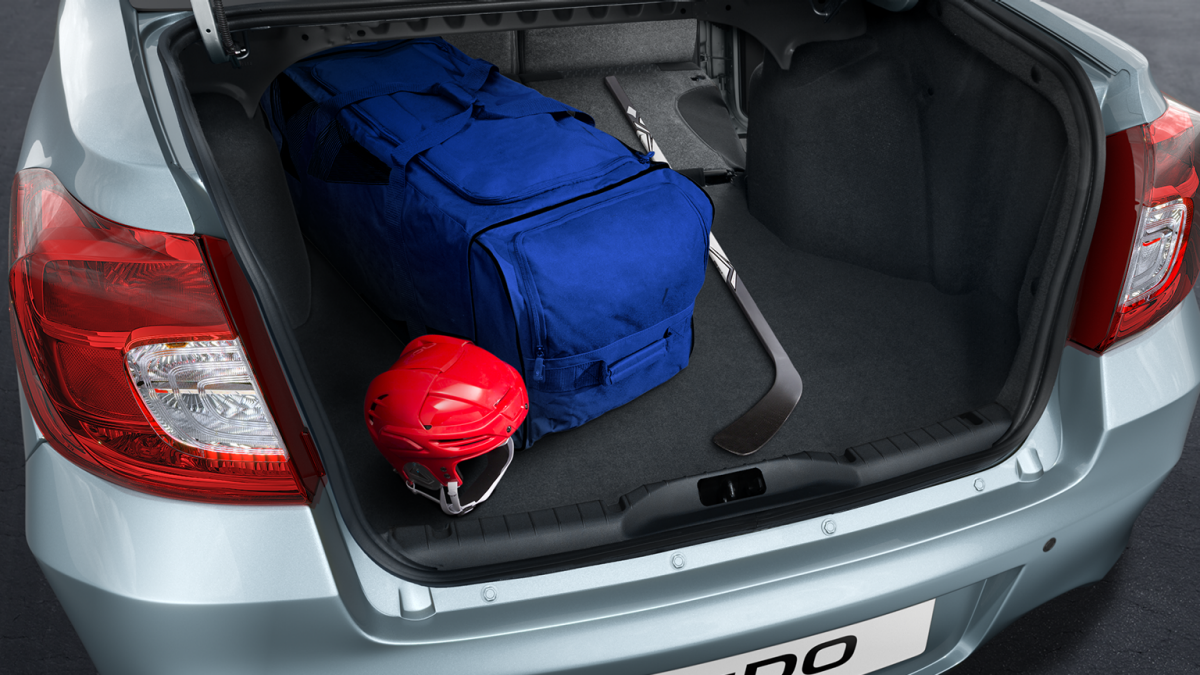 Large Trunk Space with Cargo