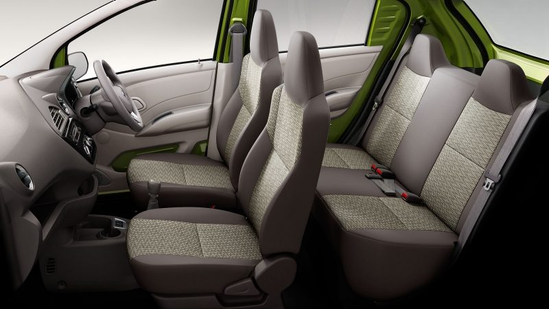 Datsun redi-GO interior seating