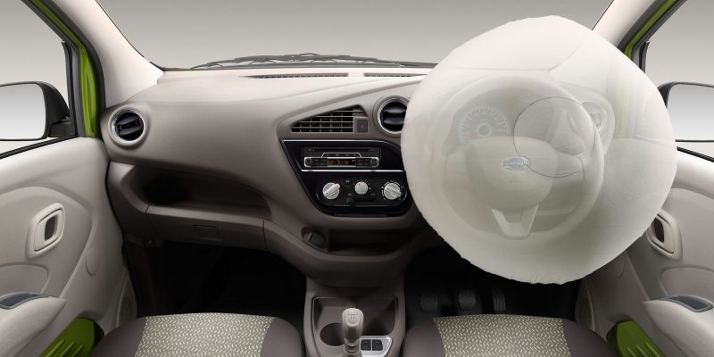 Datsun redi-GO interior driver's side air bag