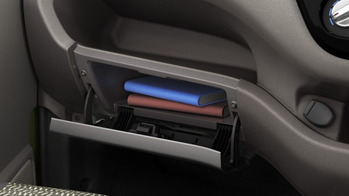 Datsun redi-GO interior glove compartment